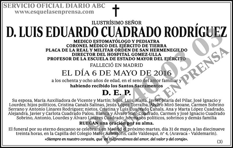 Luis Eduardo Cuadrado Rodríguez